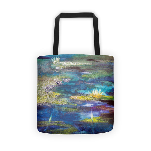 Monet Water Lillies Tote bag