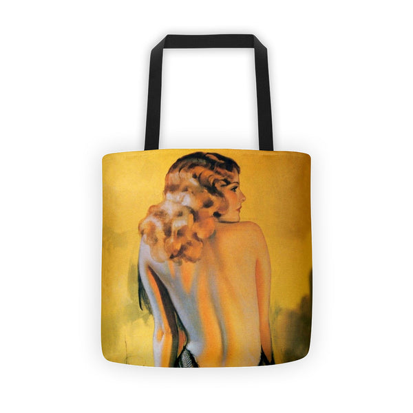 Art Deco Tote bag Available At RockerTeeShirts.com