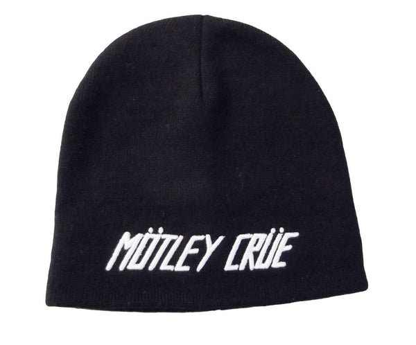 Motley Crue Beanie Hat available at Rocker Tee