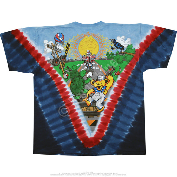 Grateful Dead Motorcycle Sam Tie-Dye T-Shirt is available at Rocker Tee Shirts