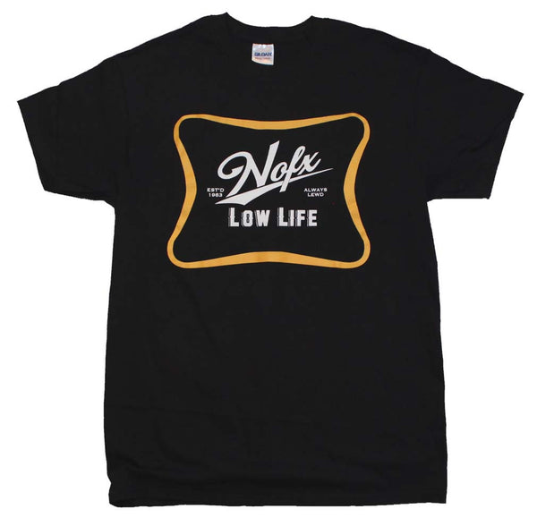 NOFX T-Shirt Featuring The Low Life Logo