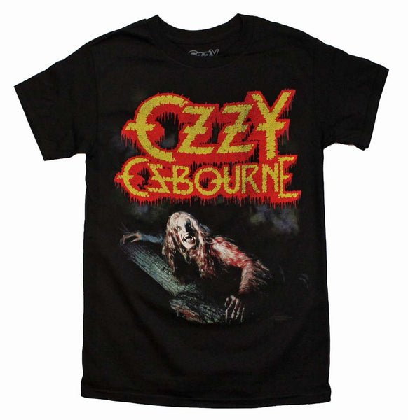 Ozzy Osbourne T-Shirt Featuring A Vintage Style Print is available at rockerteeshirts.com