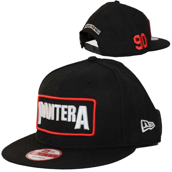 Pantera Hat Featuring The Pantera Logo. This hat will make a very addition to your rock music memorabilia collection.