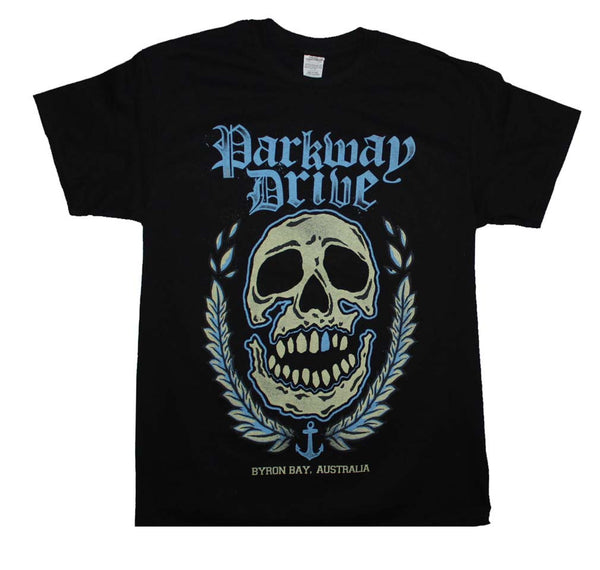 Parkway Drive T-Shirt Featuring The Byron Bay Skull