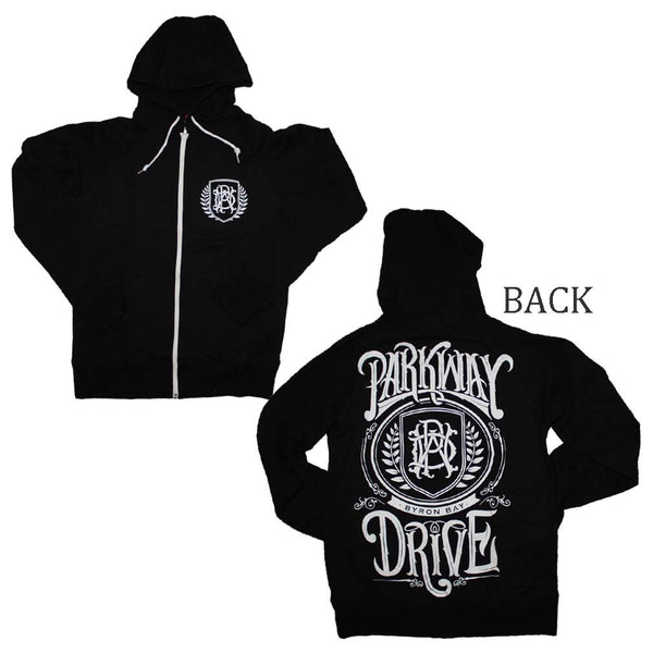 Parkway Drive Hoodie Featuring The PWD Shield