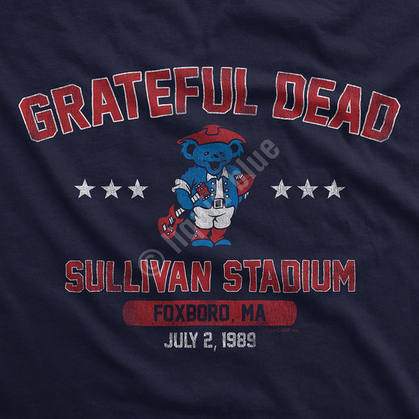 Grateful Dead Patriot Bear T-Shirt is available at Rocker Tee Shirts