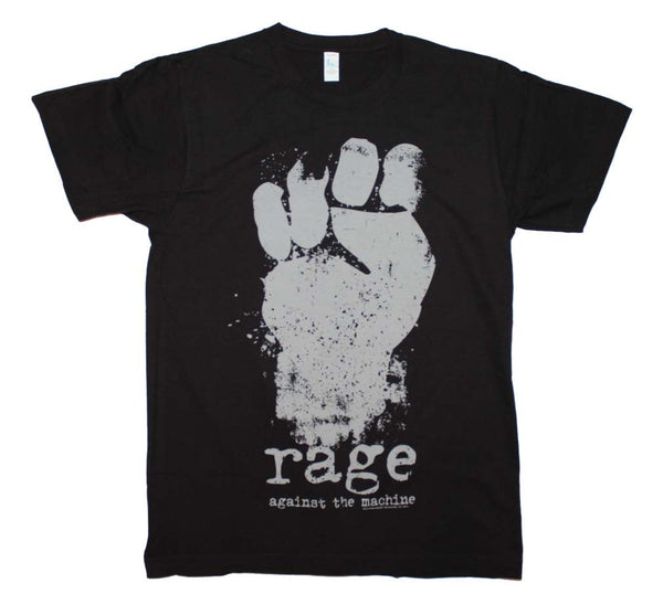 "Rage Against the Machine T-Shirt Featuring The ""FIST!"" One of the most incredible rock music memorabilia t-shirts ever created"