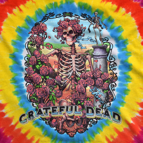Grateful Dead Rainbow Bertha Tie-Dye T-Shirt is available at Rocker Tee Shirts