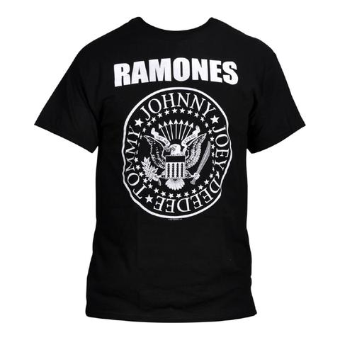 Buy The Ramones Classic Presidential Seal Logo T-Shirt at Rocker Tee