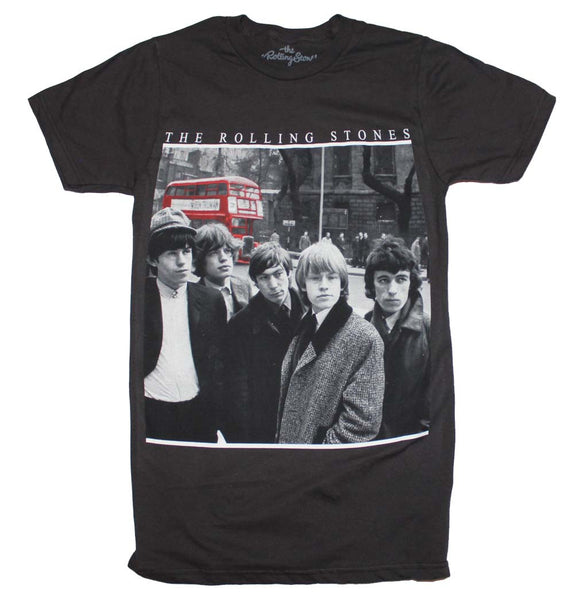 Rolling Stones T-Shirt Featuring The Red Bus is available at Rocker Tee.