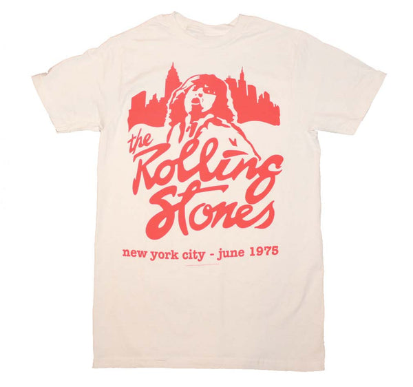 Rolling Stones T-Shirt From Their 1975 New York City Concert.