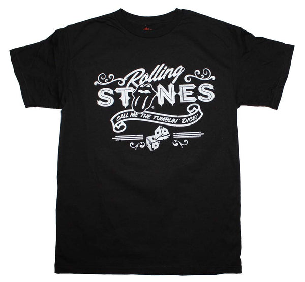 Rolling Stones T-Shirt Featuring Tumblin Dice This Is A Great Rock n Roll T-Shirt