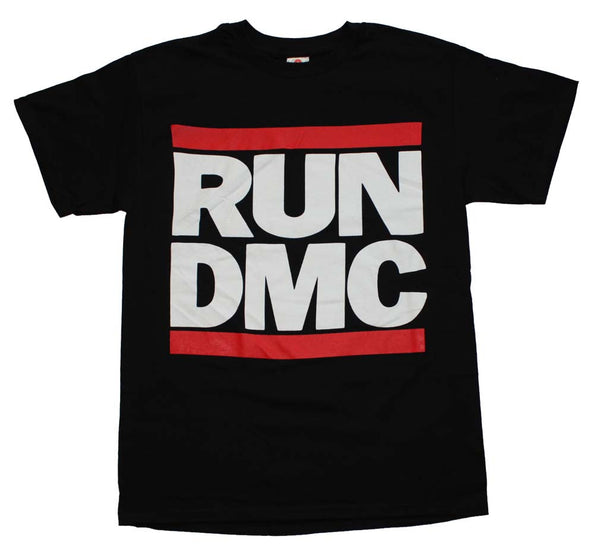 Run DMC T-Shirt Featuring The Iconic Logo. A Much Loved Piece Of Hip Hop Music Memorabilia