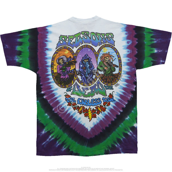 Grateful Dead Seasons Of The Dead T-Shirt is available at Rocker Tee Shirts