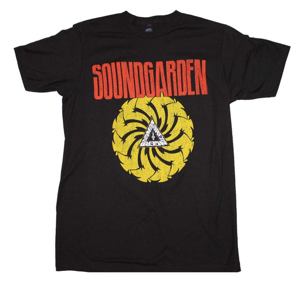 Soundgarden T-Shirt Featuring Badmotorfinger Album Artwork. This Rock T-Shirt Is A Favorite Of Rock Music Memorabilia Collectors Worlwide