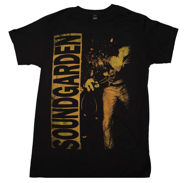 "Soundgarden t-shirt features a really nice ""Louder than Love"" graphic"