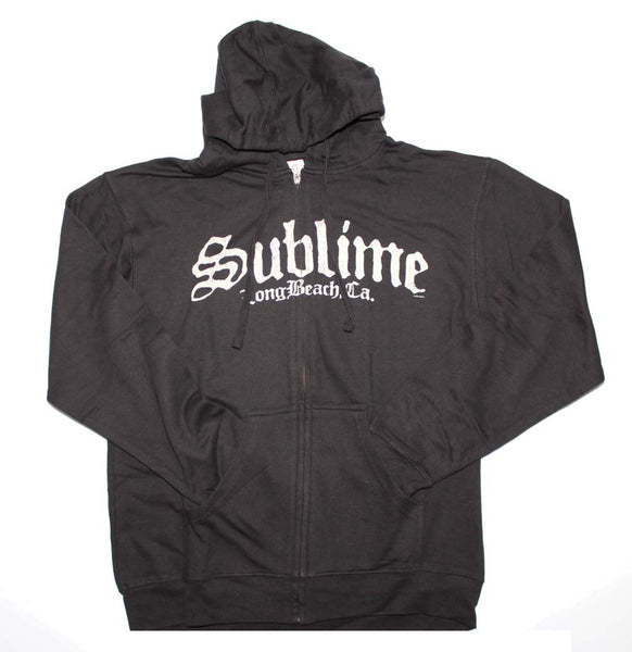 Sublime Sweatshirt Featuring The Band Logo. Really Nice Rock Apparel