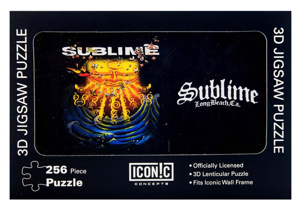 Rock Music Memorabilia collectors will love this Sublime 252 Piece Everything Under the Sun Puzzle