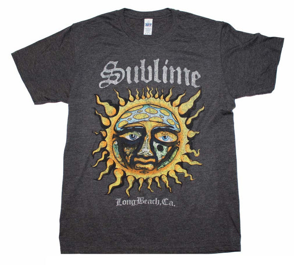 Sublime Rock T-Shirt Featuring The Iconic Sun Logo. Super Awesome Rock Music Memorabilia
