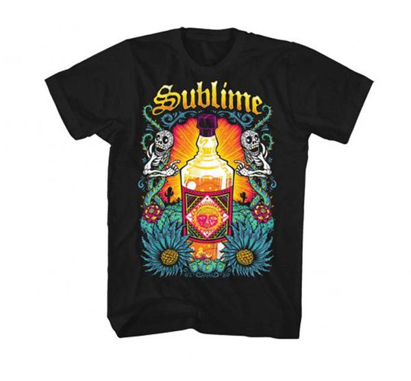 The Sublime Sun Bottle Rock T-Shirt For All You Rock Music Memorabilia Lovers