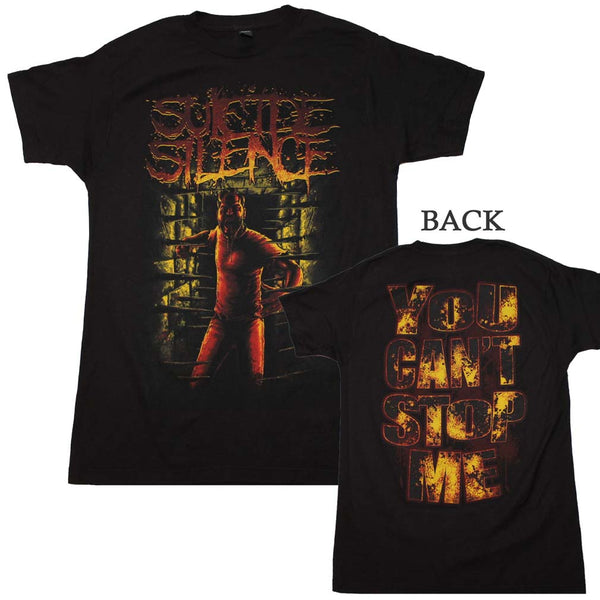 Suicide Silence You Can't Stop Me T-Shirt is available at Rocker Tee
