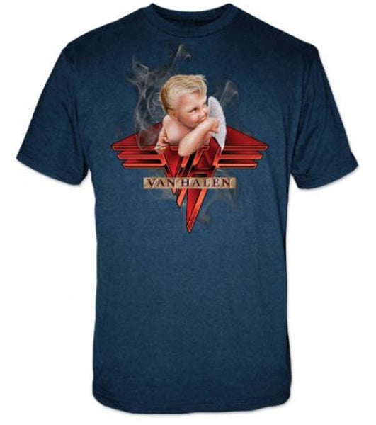Van Halen T-Shirt Featuring The Smoking Baby. An Awesome Piece Of  Music Memorabilia