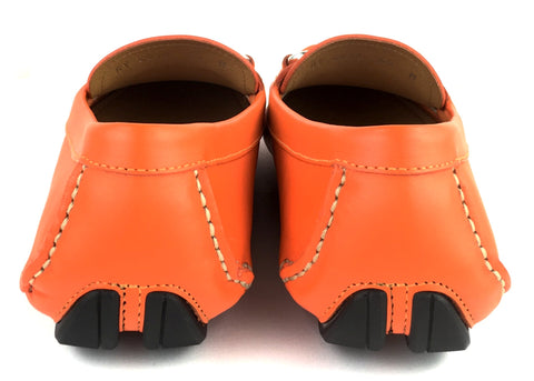 Mocasines en Naranja, (US., 5.5)