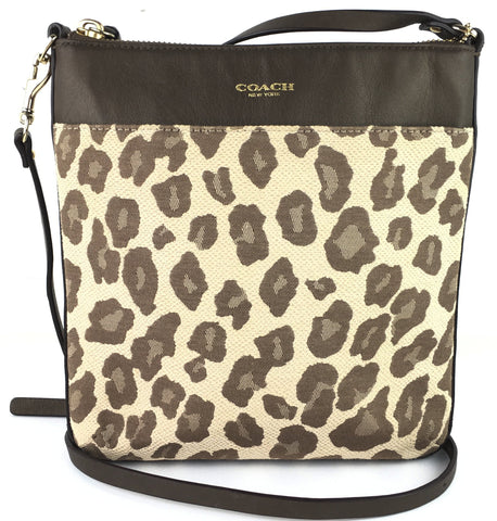Crossbody Print de Leopardo