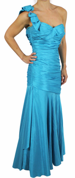 Vestido Largo One Shoulder