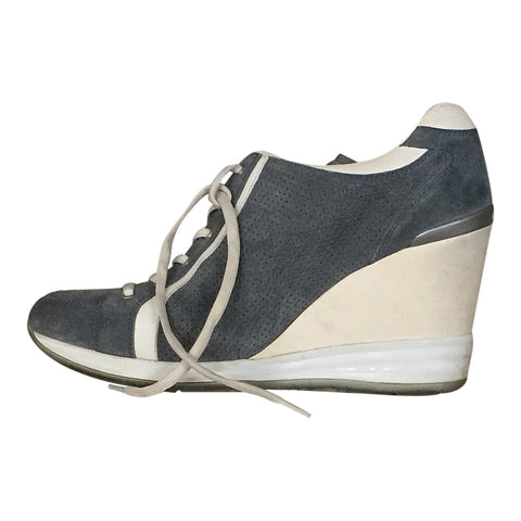 Zapatillas Wedge color Azul (US. 7.5)