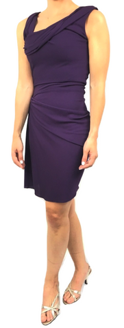 Vestido Cocktail Morado (XS)