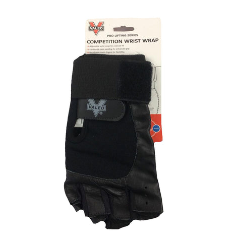 Pro Lifting Series-Competition Wrist Wrap Gloves Negros, (Talla L/G)