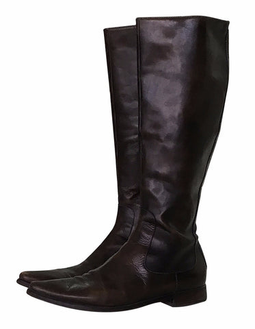 Botas Altas Chocolates (US. 6.5)