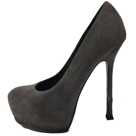 Zapatos de Gamuza en Gris, IT.,39