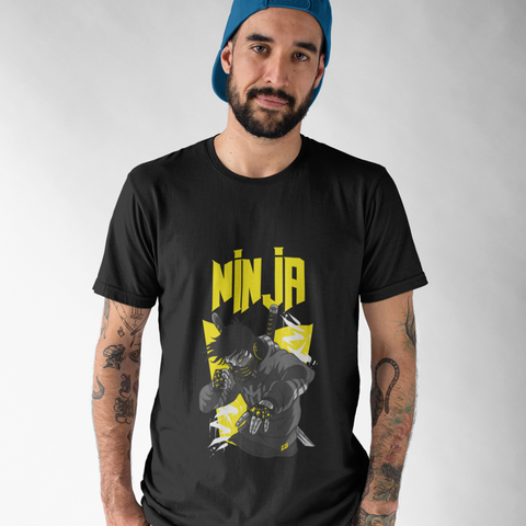 Mens Ninja Graphic T-Shirt