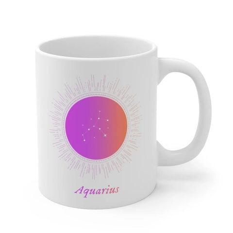 AQUARIUS Astrology Mug