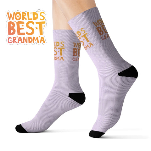 World's Best Grandma Novelty Socks