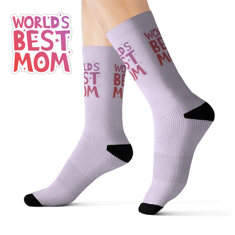 World's Best Mom Novelty Socks