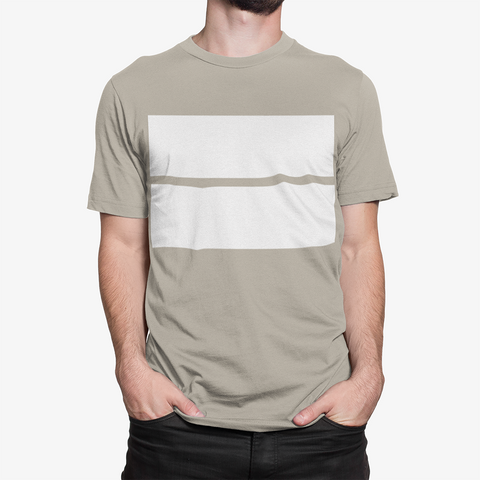 Men's Double Block Cotton Tee