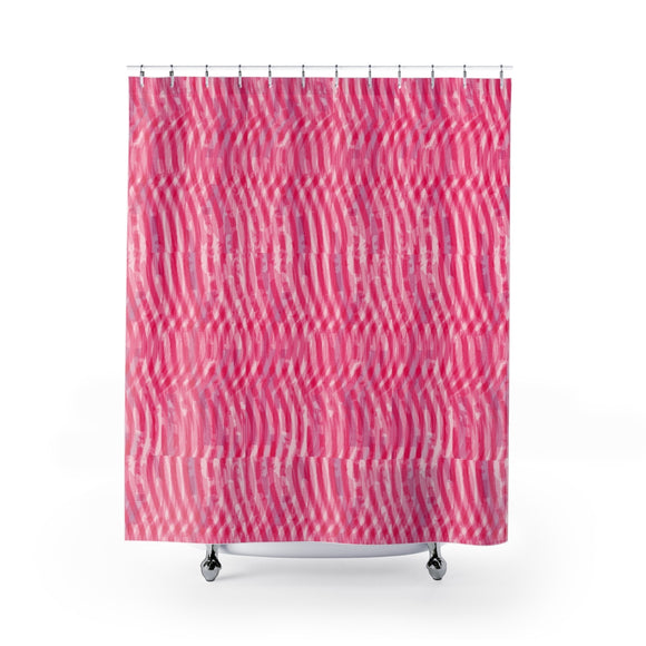 Happy Pink Shower Curtains