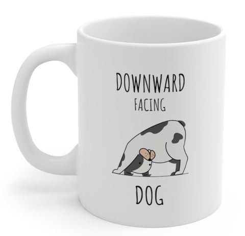 Downward Facing Dog Mug