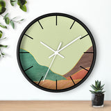 Tranquil Mountain Wall clock