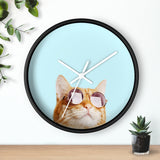 Cat is Alway's Right Wall clock