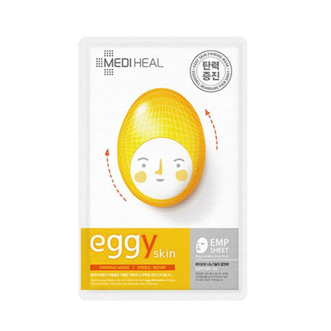 Korean Beauty Mediheal Eggy Skin Firming Mask - 10 PCS Pack