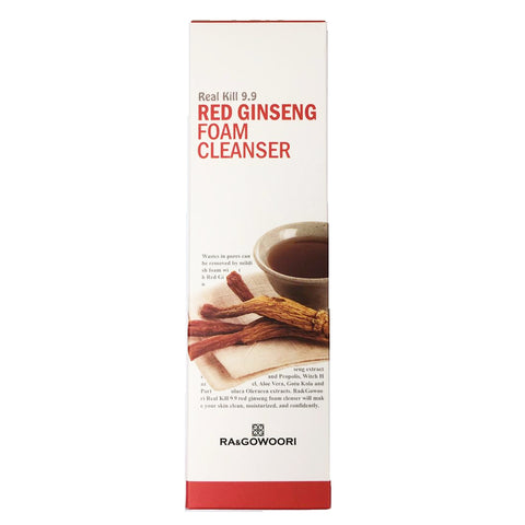 Ra&Gowoori Real Kill 9.9 Red Ginseng Cleansing Foam 120ml x 3 PC Pack