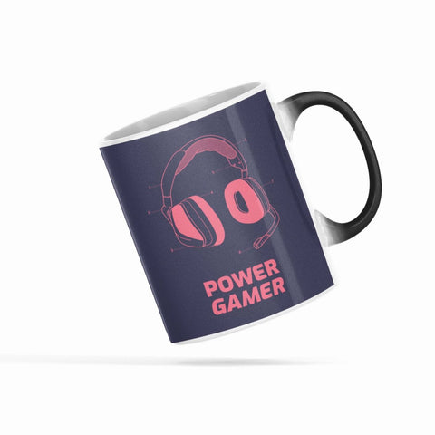 Power Gamer Heat Sensitive Color Changing Mug