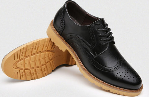 mens lace up business casual oxford shoes  onetify