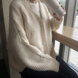 Womens Batwing Knit Cardigan