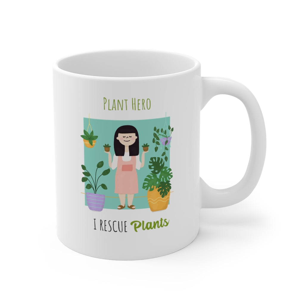 Plant Hero - I Rescue Plants Mug