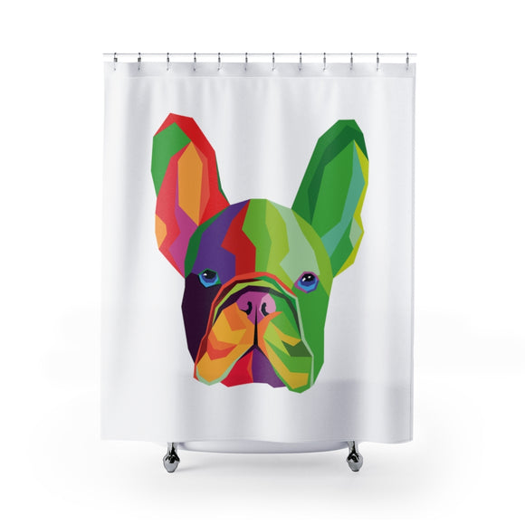 Frenchie Shower Curtains